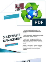 Solid Waste Management 1