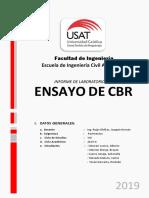 Informe de Laboratorio CBR