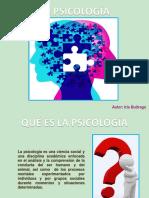 La Psicología. Iris Buitrago. t1