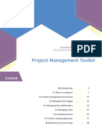 Ima Project Management Toolkit