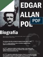 VIDA Y TRANSTORNOS DE EDGAR ALLAN POE