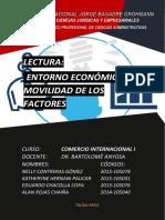 Lectura Entorno Político y Movilidad de Factores