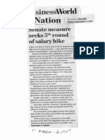 Business World, Nov. 11, 2019, Senate measure seeks 5th round of salary hike.pdf