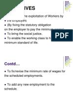 Minimum Wage Act Ppt Amit