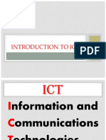 Lesson 1 Current State of Ict