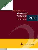 Characteristics of Successful Tech CEOs