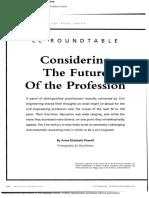 CONSIDERING THE FUTURE OF THE PROFESSION-Artículo en Ingles-convertido (1).docx