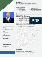 CV Update Tasbun