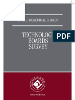 Technology Boards Compensation & Composition - Entrepreneurial Boards