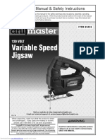 Manual Caladora Drill Master
