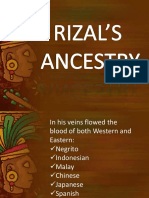 Rizal's newest information