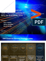 PoV_New Planning Features in BPC for S4HANA 1610_V1.0