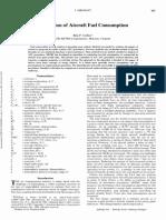 Estimation of Aircraft Fuel Consumption