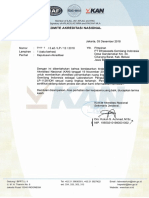 SK Penambahan RL ISO 17025