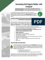 Increasing Organic Matter of Soil