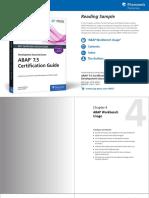 Reading Sample Sappress 1685 ABAP75CertificationGuide