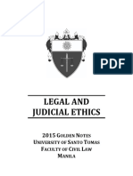 Legal Ethic Review
