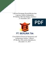 Consolidated Financial Statement BRNA Des 2017