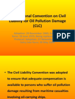 International Convention on Civil Liability for Oil Pollution