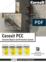 Concrete Repair and Protection System1 - Ceresit