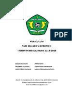 Ktsp Smk Maarif 4 Th 2018-2019 Upw
