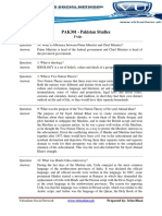 PAK301 - Pakistan Studies Frequently Asked Questions FAQs For Midterm Exam Preparation Spring 2013.pdf
