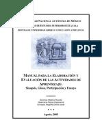 Manual de Actividades Suayed Glosa Sinopsis Mapa_conceptual ETC