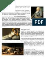 Biografía Goya y David El Pintor de La Revolución