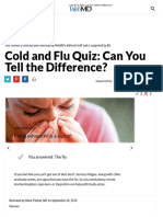 Cold & Flu Quiz_ Can You Tell the Difference