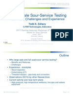 Sour Service Testing