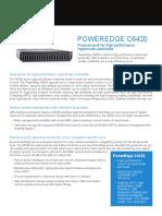 Poweredge c6420 Spec Sheet