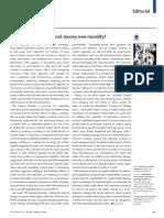 PMI, Money Over Morality