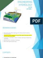 Hydrology L 1