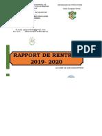 RAPPORT DE RENTREE PRIMAIRE IEPP 2019.xlsx