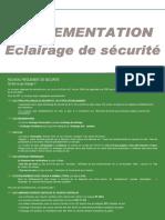 R C3 rglementation eclairage de securite