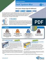 Produits Duotech System Mur