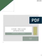 Chapitre I Introductif Ppt Fiscalité Approfondie V2-1