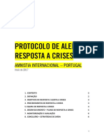 PROTOCOLO DE ALERTA E RESPOSTA A CRISES
