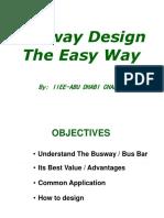 Busway Design