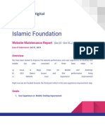 Islamic Foundation Project Report