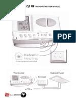 computerm instruction manual Q7 RF