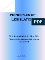 Principles of Legislation