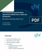 Standard Ground Handling Agreement Gerspacher