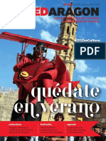Revista RedAragon 21. Julio-Agosto 2018