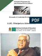 1.1.02 - Principal as a School Leader
