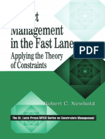 [St. Lucie Press_APICS Series on Constraints Management.] Newbold, Robert C. - Project Management in the Fast Lane _ Applying the Theory of Constraints (1998, St. Lucie Press)