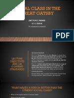 great gatsby presentation