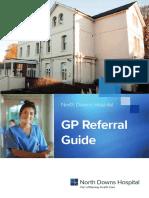 North Downs GP Referral Guide_A4_2017
