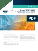 Fe Safe Datasheet