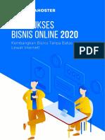 Kiat Sukses Bisnis Online 2020